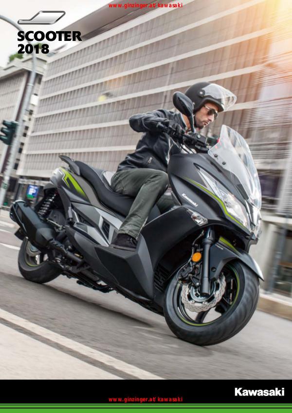 Kawasaki Kataloge Kawasaki Scooter 2018