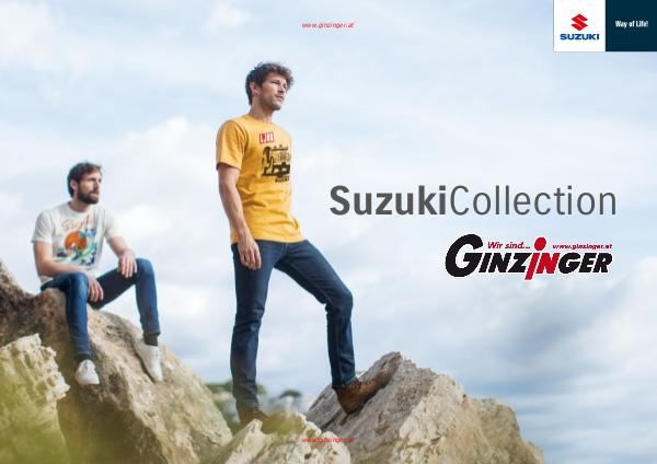Zubehör und Bekleidung Suzuki Collection 2019