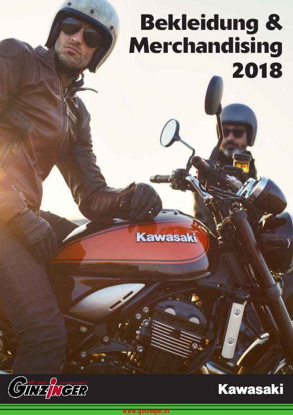 Kawasaki Bekleidung und Merchandising 2018
