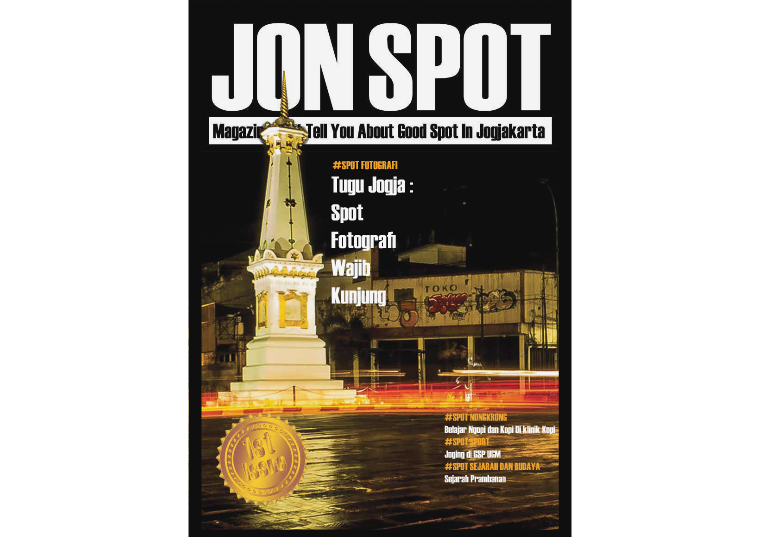 JON SPOT MAGZ First Issue