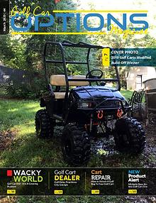 Golf Car Options Magazine March 2020