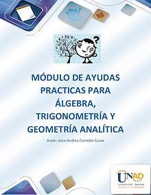 301301_291 Álgebra, trigonometría y Geometría Analítica