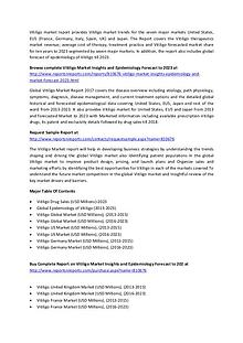 Vitiligo Market Inisghts And Epidemiology Forecast to 2023
