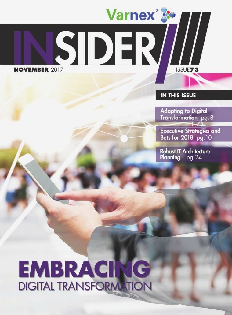 Varnex Insider November 2017 - Issue 73