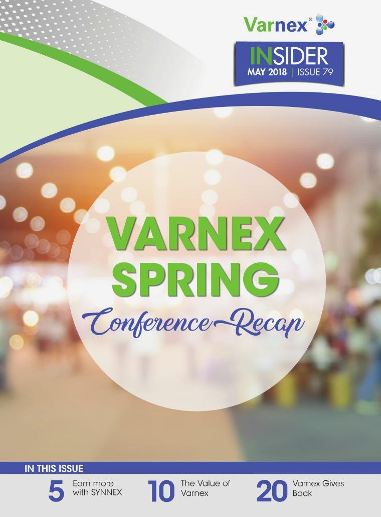 Varnex Insider May 2018 - Issue 79