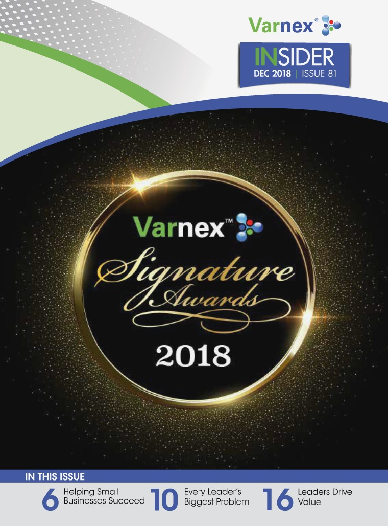 Varnex Insider December 2018 - Issue 81