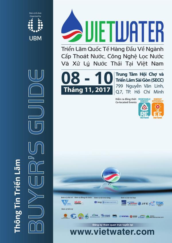 Vietwater 2017 - Buyer Guide Water