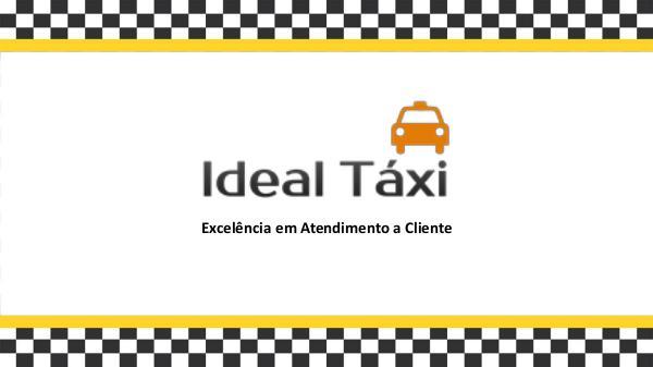 Portfólio Ideal Táxi Ideal Táxi