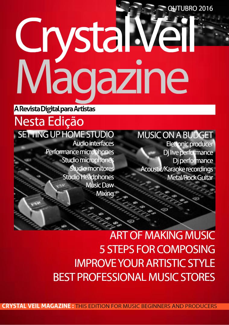 Crystal Veil Magazine Outubro 2016