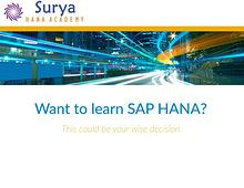 LEARN SAP BW/4HANA