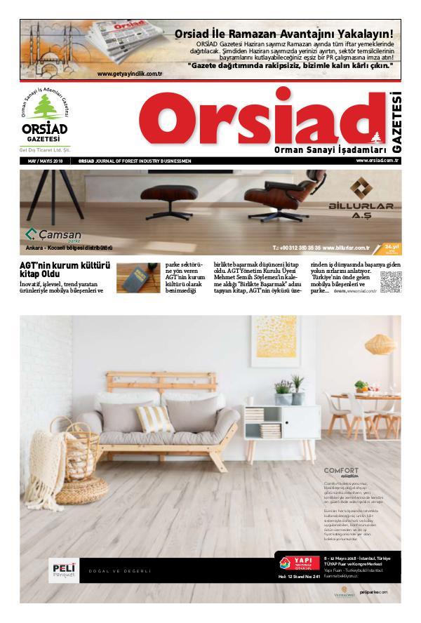 Orsiad Gazetesi Sayı 71 - Mayıs 2018