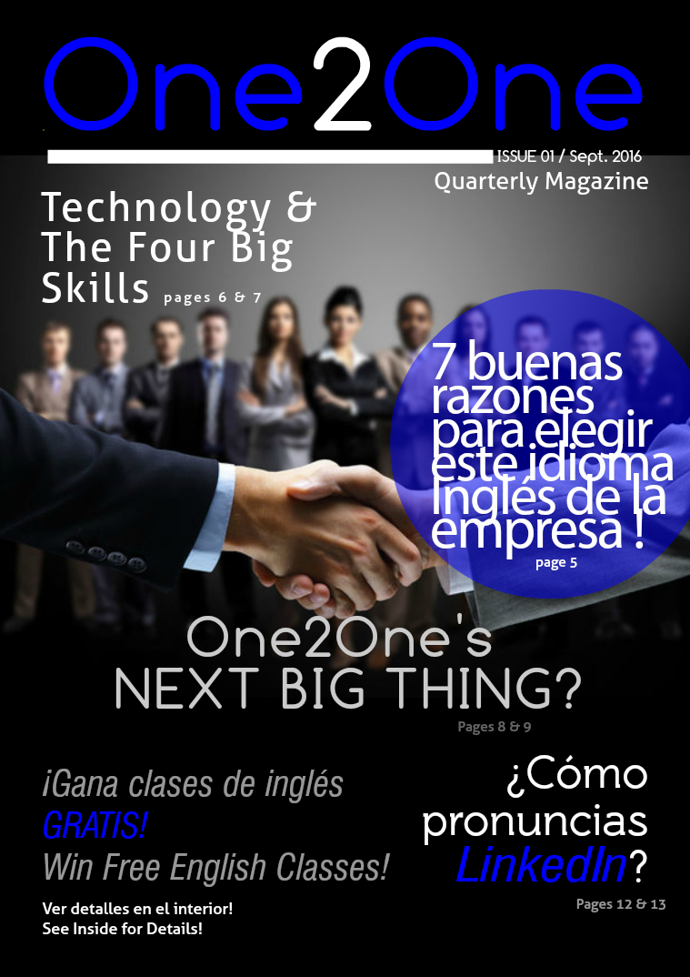 One2One Quarterly Sept. 2016
