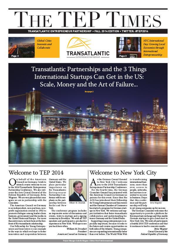 TEP Times 2014