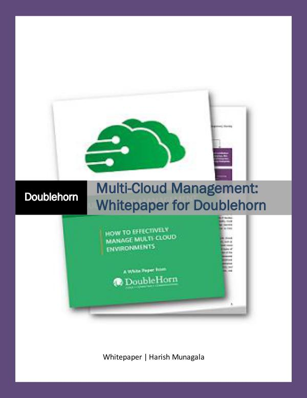 Multi-Cloud Management Multi-cloud management