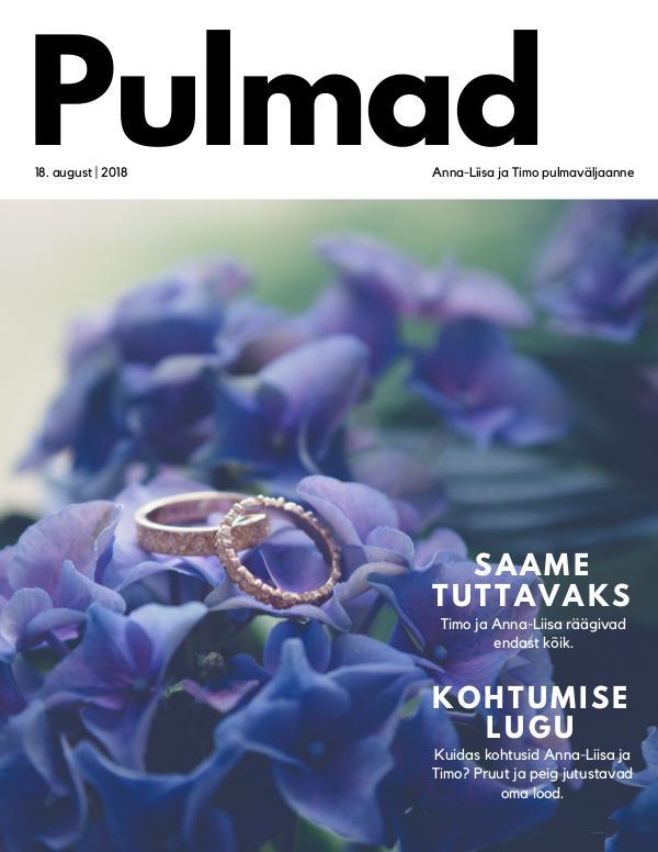 Pulmad: Anna-Liisa ja Timo Ajakiri