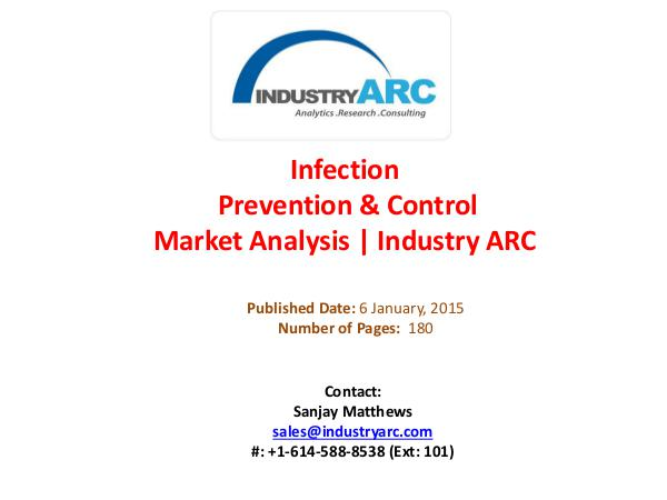 Infection Prevention & Control Market Analysis   IndustryARC Infection Prevention & Control Market Analysis   I