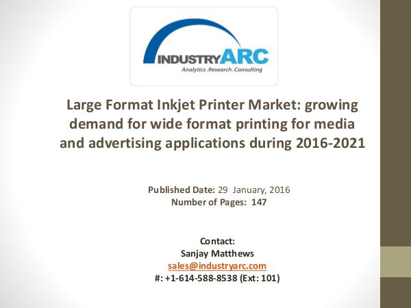 Large Format Inkjet Printer Market: North America is the leading regi Large Format Inkjet Printer Market: textile printi