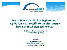 Energy Harvesting System Industry: high demand for energy harvesting