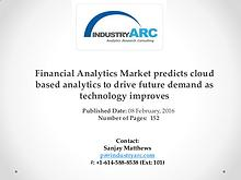 Financial Analytics Market expects North America market share dominan