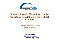 Streaming Analytics Market Expects North America to Continue Market D