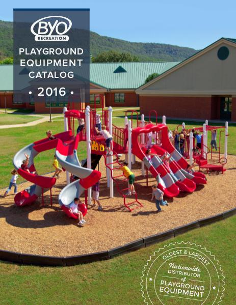 BYO Recreation 2016 Playground Catalog Volume 1