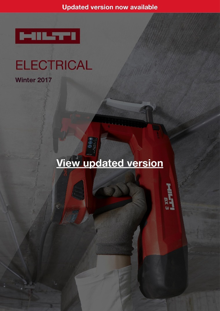 Hilti Catalog Download
