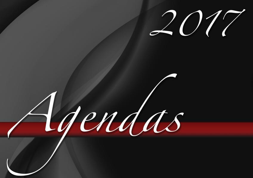 Agendas 2017 by tuagenda Septiembre 2017