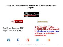 Industry Report on Mens Golf Hats Market