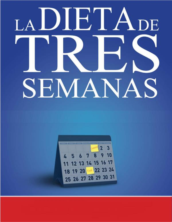 THE 3 WEEK DIET EN ESPAÑOL GRATIS PDF 2018
