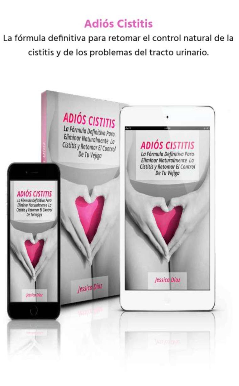 ADIOS CISTITIS LIBRO PDF DESCARGAR COMPLETO JESSICA DIAZ