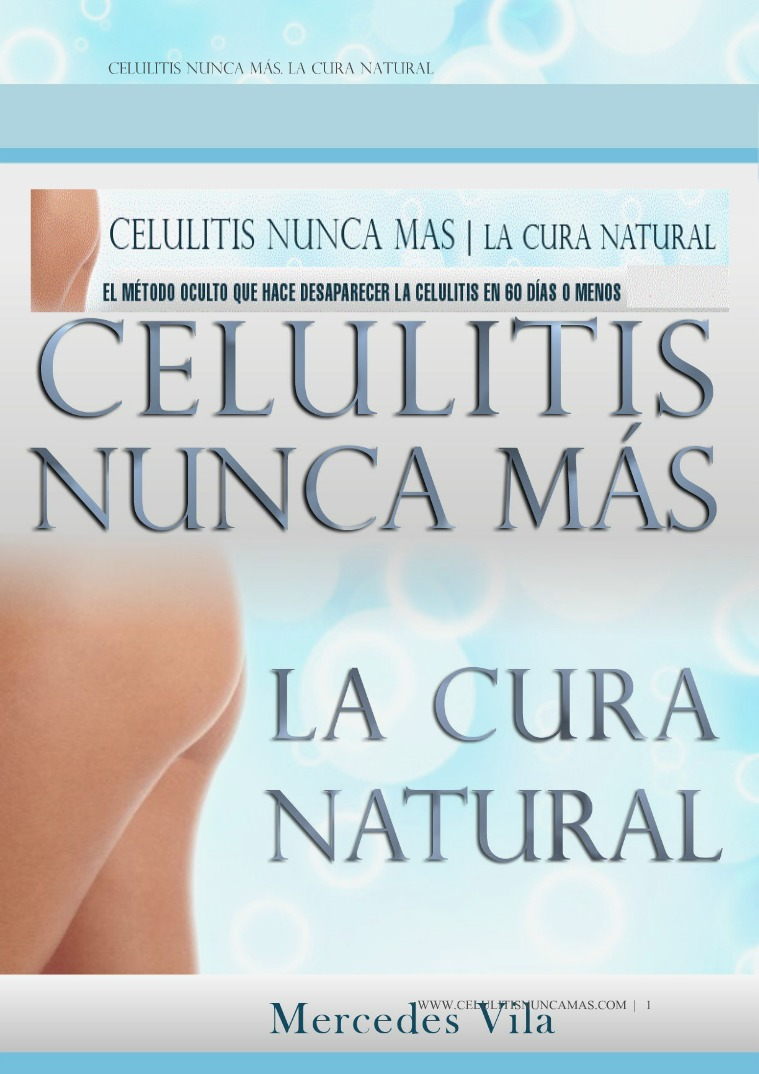 CELULITIS NUNCA MAS PDF GRATIS COMPLETO 2018
