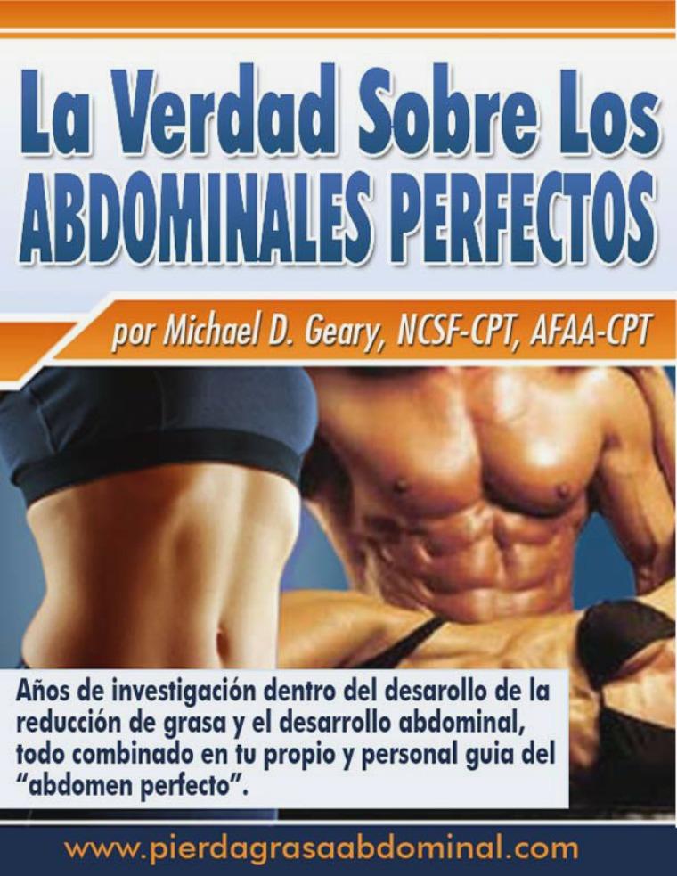 La Verdad Sobre Los Abdominales Perfectos Pdf Español Gratis Descargar