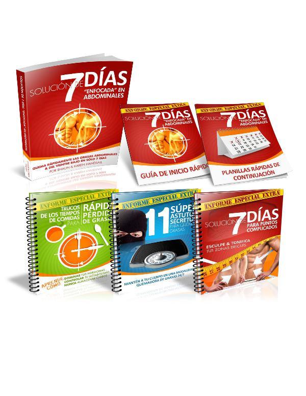 SOLUCION DE 7 DIAS ENFOCADA EN ABDOMINALES PDF GRATIS DESCARGAR