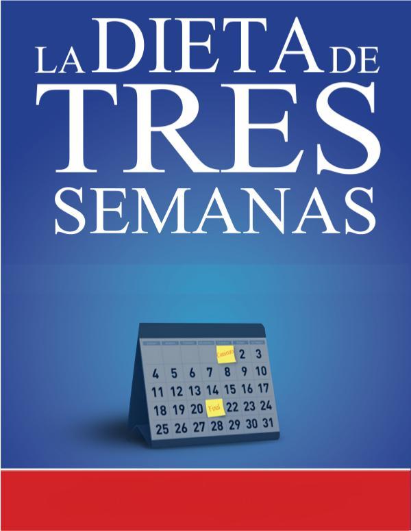 LA DIETA DE 3 SEMANAS EBOOK PDF DESCARGAR