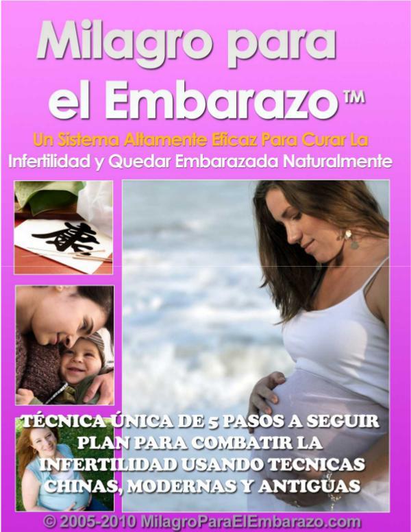 MILAGRO PARA EL EMBARAZO EBOOK PDF DESCARGAR