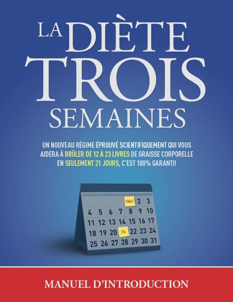 LA DIETE 3 SEMAINES PDF GRATUIT Télécharger