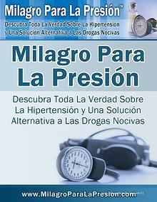 MILAGRO PARA LA PRESION PDF DESCARGAR COMPLETO