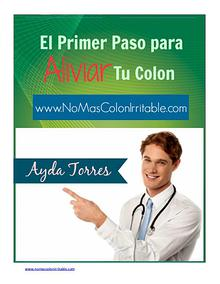 NO MAS COLON IRRITABLE EBOOK PDF