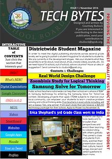 Technology Bytes - Integrating Tech in K-12