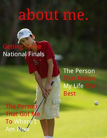 about me. Joomag magazine cover assignment