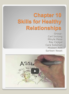 Skills for Healthy Relationships