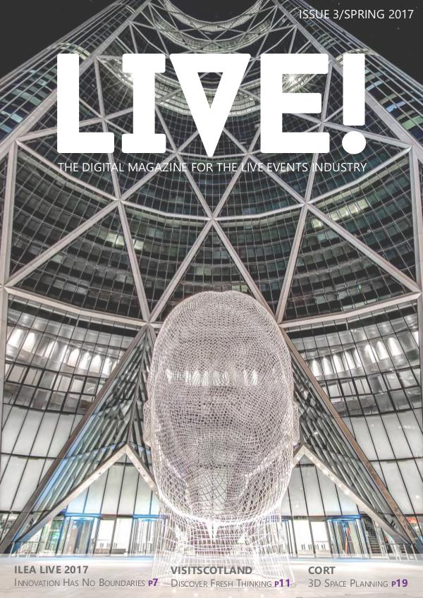 LIVE! magazine by ILEA Spring 2017
