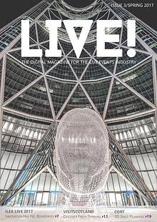 LIVE! magazine by ILEA