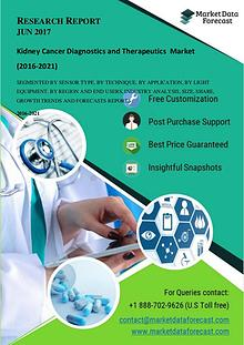 Kidney Cancer Diagnostics and Therapeutics  market is poised to reach