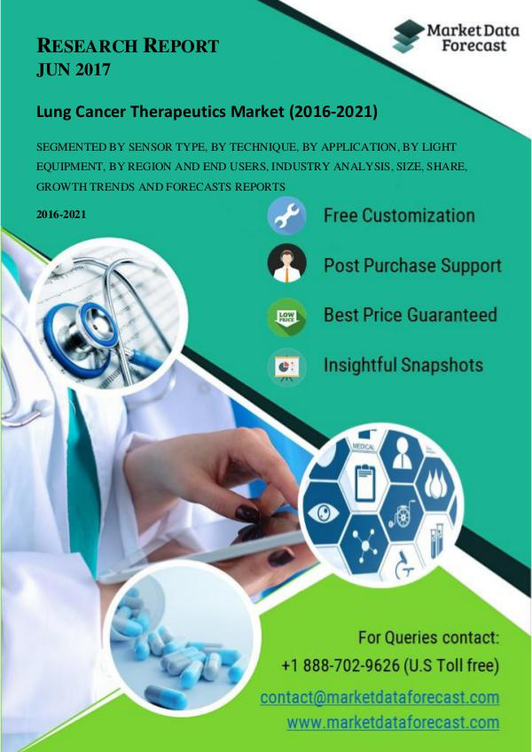 Analyzing the trends and forecasting Global Lung Cancer Therapeutics Analyzing the trends and forecasting Global Lung C