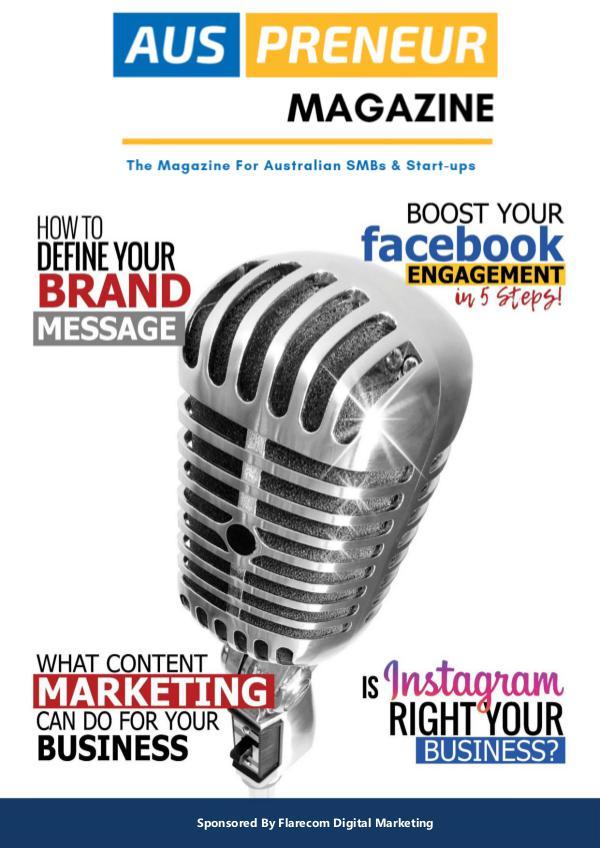 Auspreneur Magazine Issue 1