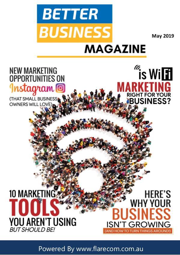 Better Business Magazine May 2019