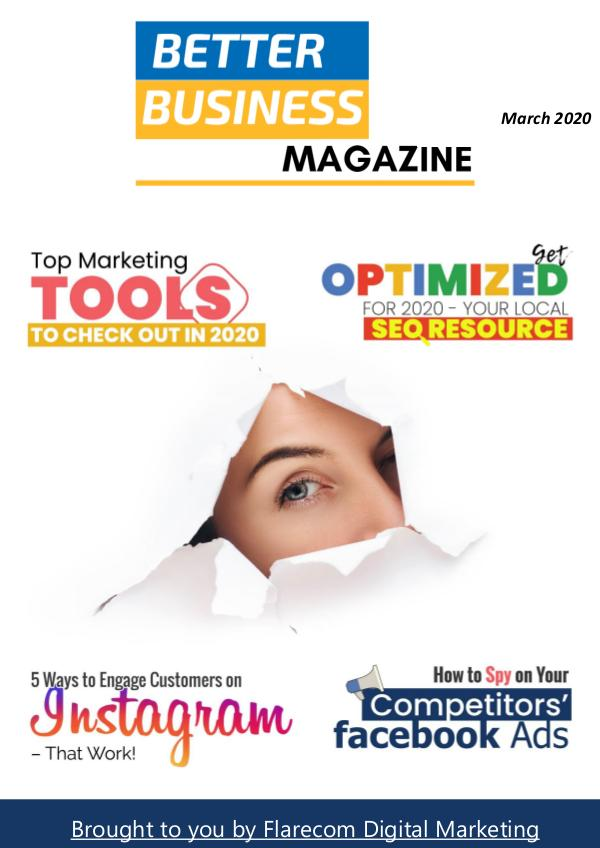 Better Business Magazine March 2020 Better Business Magazine March 2020 - Issue 63