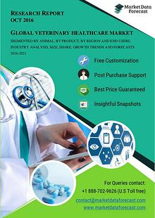 Global Veterinary Healthcare Market To Reach A Valuation Of USD 39.56