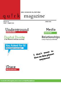 qu!rk magazine August 2013